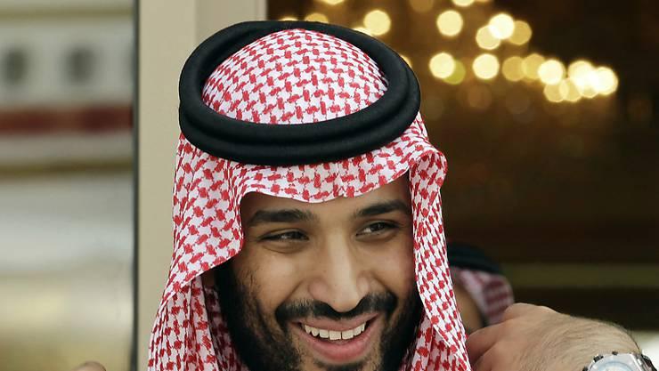 Kronprinz Mohammed bin Salman wünscht sich eine Öffnung Saudi-Arabiens, mit einem moderaten Islam (Archiv)