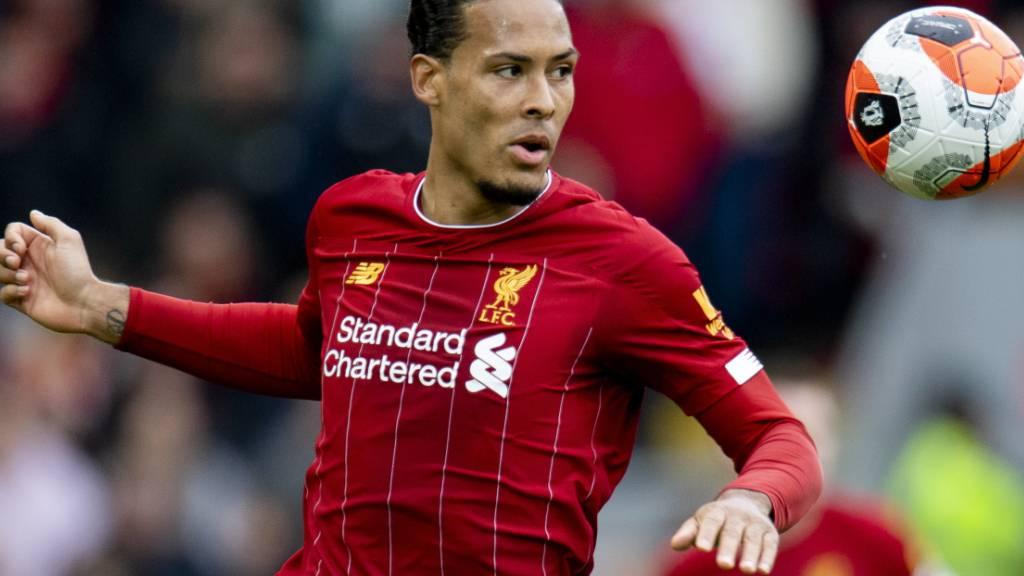 Virgil van Dijk bleibt dem FC Liverpool bis 2025 erhalten