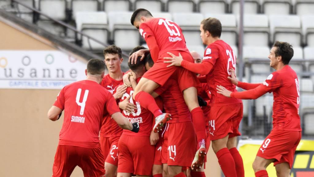 SC Kriens verliert klar gegen FC Vaduz