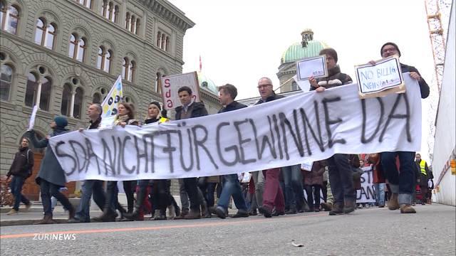 Generalstreik bei der Schweizer Nachrichtenagentur SDA