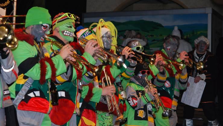 Am Freitag findet in Laufenburg zum 30. Mal das grenzüberschreitende Open-Air-Gugge-Festival statt.