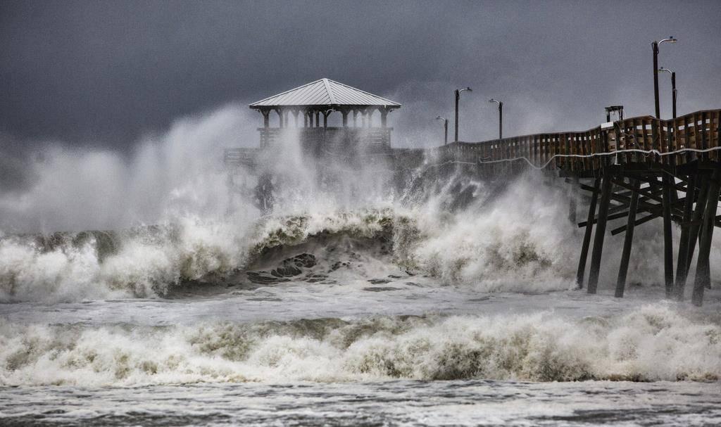 Der Hurrikan «Florence» stürmt an der US-Ostküste.