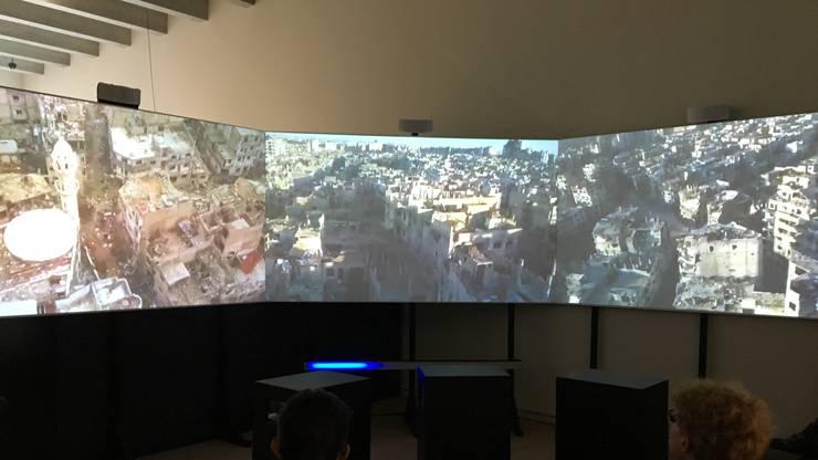 Im Bild sieht man einen Einblick in den Film von Regisseur Mano Khalil