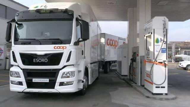 Die erste öffentliche Wasserstofftankstelle der Schweiz