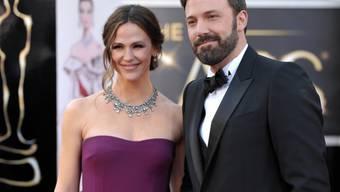 Bild aus besseren Zeiten: Jennifer Garner und Ben Affleck bei den Oscars 2013. Mittlerweile sind sie getrennt und bereiten sich auf einen Sorgerechtsstreit vor. (Archiv)