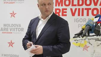 Moldau wählt mit dem Sozialisten Igor Dodon den pro-russischen Kandidaten zum Präsidenten.