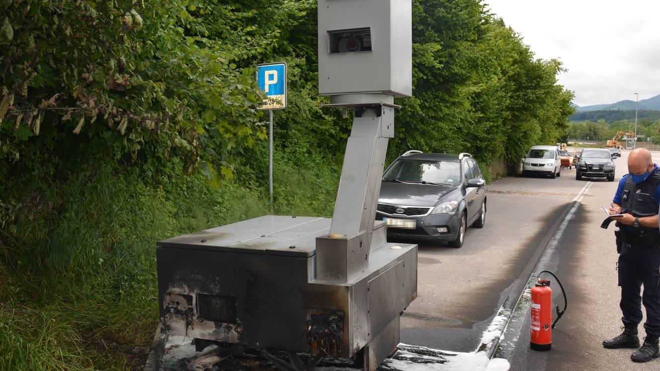 2021-06-07 Wöschnau Brand Radaranlage