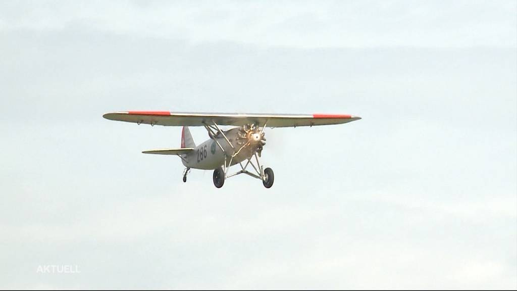 Erneuter Vorfall bei Grenchner Oldie-Flugzeug