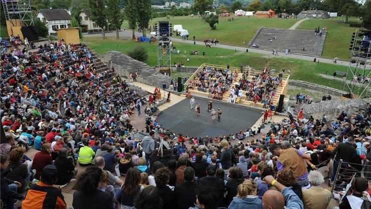 Das Römertheater dient als Bühne für die neue Veranstaltungsreihe.
