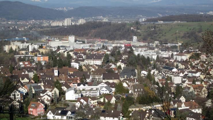 Mit Blick nach Südbaden von Frenkendorf aus. Das sind auch unsere Nachbarn, so wie die Orte Füllinsdorf, Pratteln, Nuglar, Arlesheim, Muttenz und Liestal.