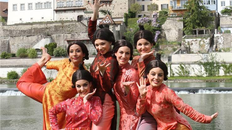 Die Produktion 2015 war ein Erfolg: «Das Land des Lächelns» der Operettenbühne Bremgarten zählte 11000 Besucher. zvg