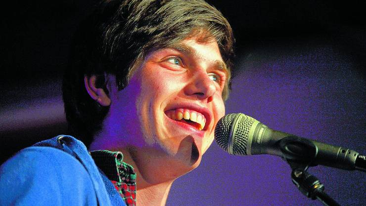 Laurin Buser Der 17-Jährige gewann den «Chrämer-Slam». (Urs Lindt)