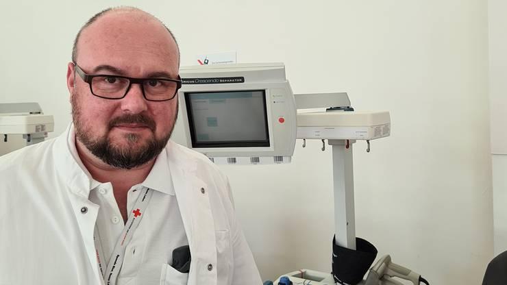 Chefarzt Transfusionsmedizin und Blutspendezentrum beider Basel / Leitender Arzt Hämatologie