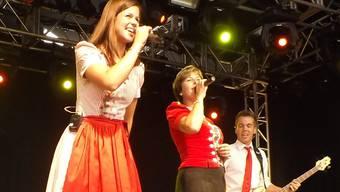 Oesch's die Dritten sangen inbrünstig Hits wie «Du bist mein Sonnenschein» oder «Swiss Girl».