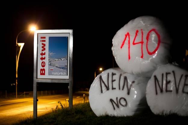 Am 22. November kam die Hiobsbotschaft per Post: 140 Asylbewerber sollen in der Militäranlage in Bettwil einquartiert werden.
