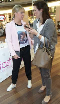 Nicole und Tatjana kurz vor dem Start zum FashionRun