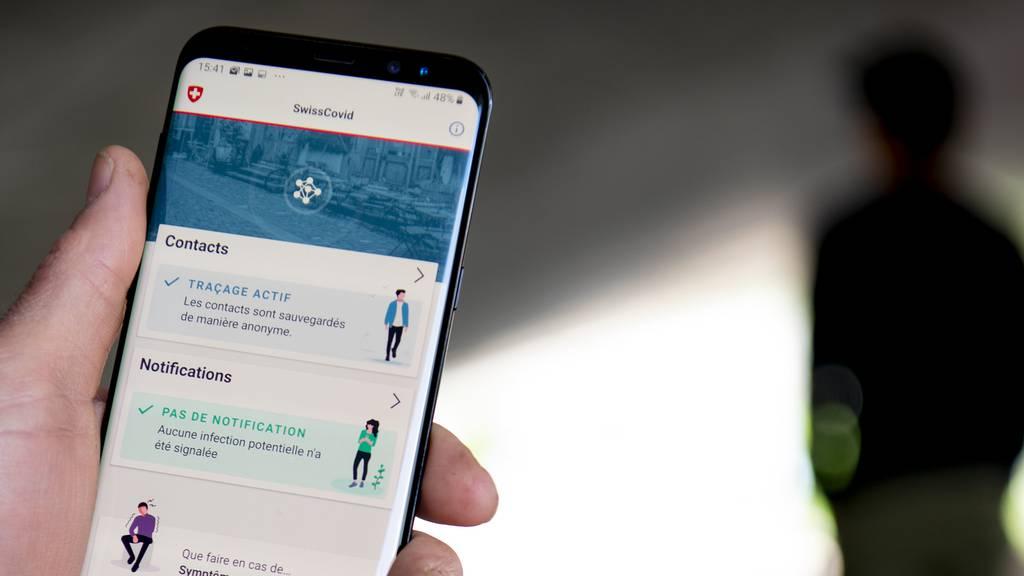 Bisher 150'000 Downloads der Swiss-Covid-App