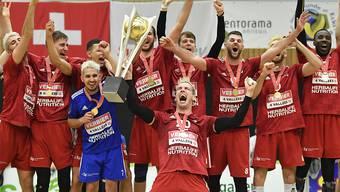 Grenzenloser und hochverdienter Jubel bei den Volleyballern von Lausanne UC