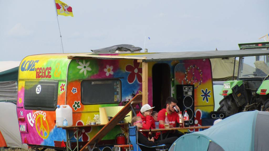 Beim «Festival ohne Bands» spielt sich das Leben auf dem Zeltplatz ab.