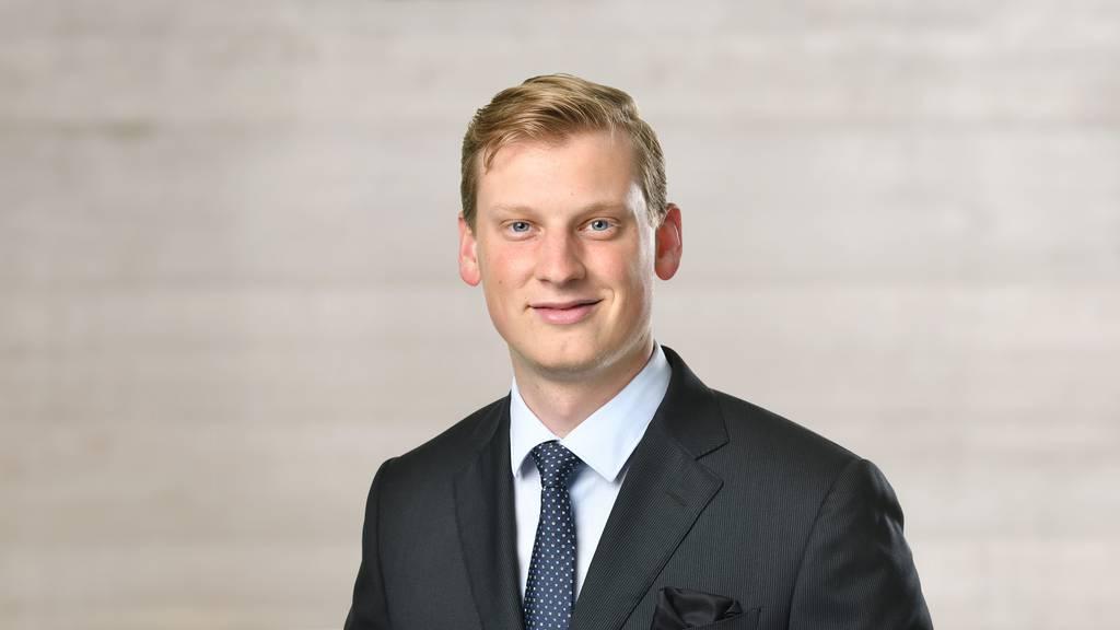 David Trachsel Junge SVP