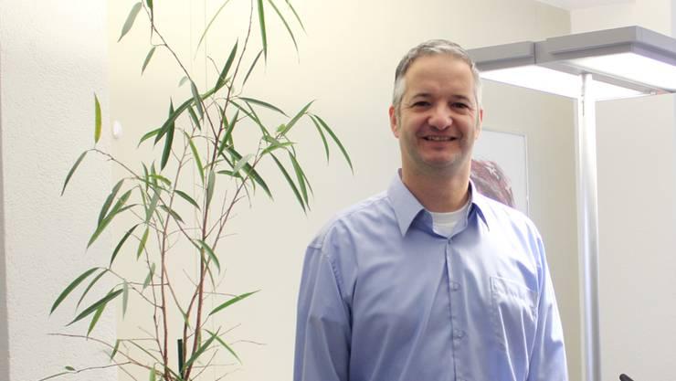 Daniel Rösti, Direktor der Darotec AG.