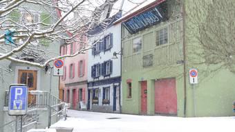 Wird das grüne Haus am Hahnrainweg schon bald wieder leer stehen?