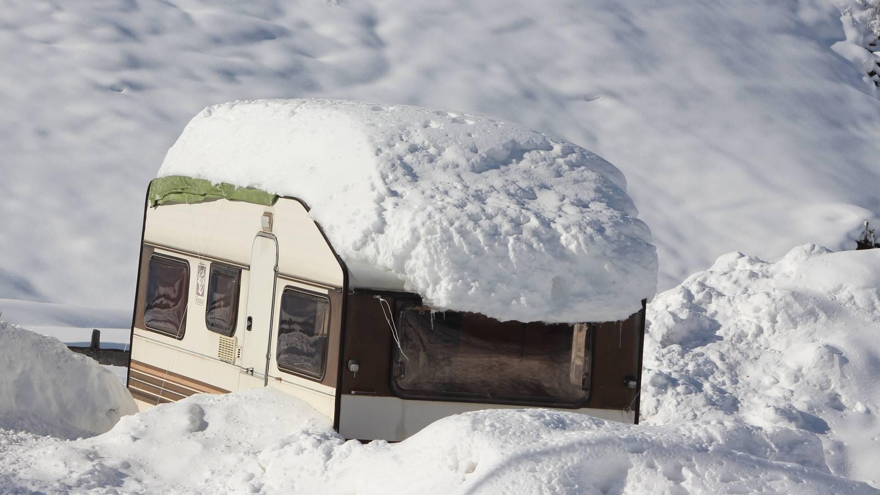 Ein älteres Ehepaar ist in Ricken in seinem Wohnwagen gestorben (Symbolbild).