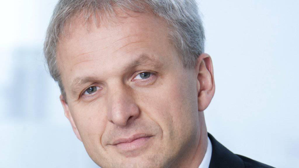 Der neue Lenker des Sulzer-Konzerns: Greg Poux-Guillaume.