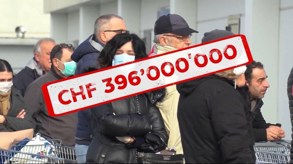 Nationalräte wollen rund 400 Millionen Franken für Schutzmasken ausgeben