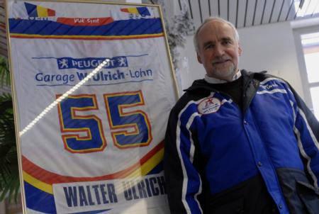 Walter Ulrich, Präsident des EHC Zuchwil Regio ist gestorben