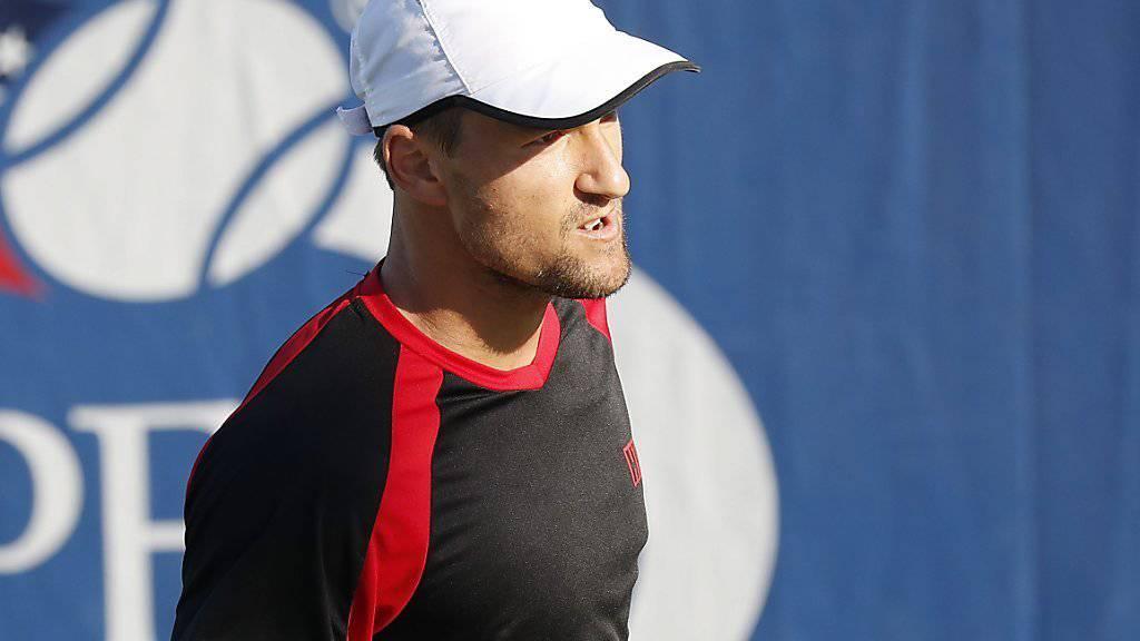 Entschlossen, in der 2. Runde des US Open eine Überraschung zu schaffen: Marco Chiudinelli