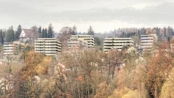 Die neuen Wohnungen entstehen im Frankental an bester Lage. zvg