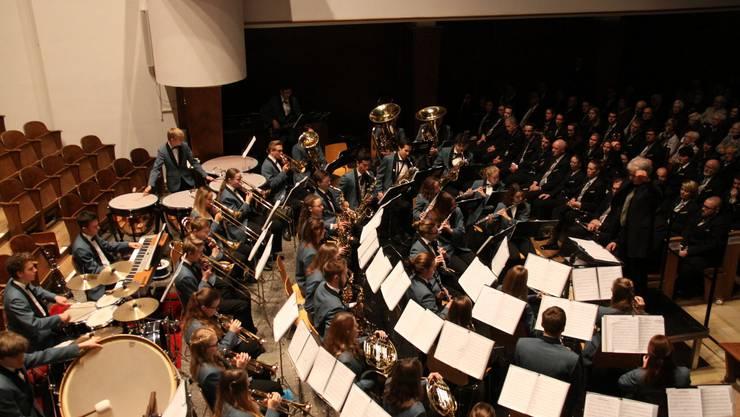 Das diesjährige Adventskonzert von Stadt- und Jugendmusik Olten am 3. Dezember findet erneut in der Friedenskirche statt. (Foto: Irene Borner-Küpfer)