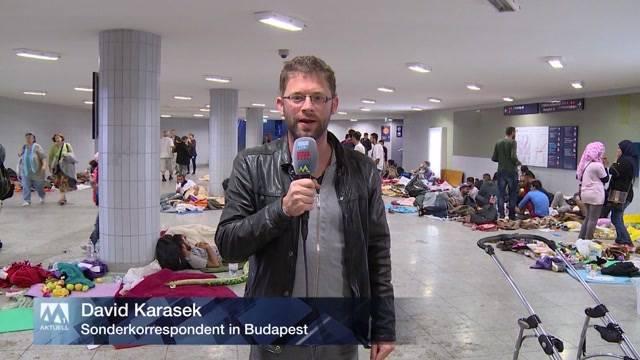 Anhaltender Flüchtlingsstrom und mehr Solidarität in Budapest