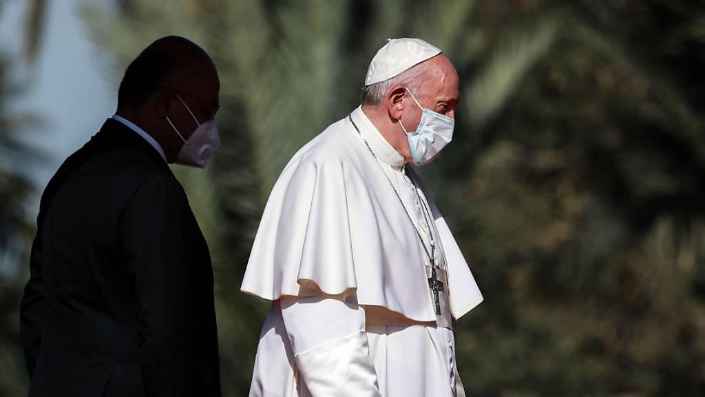Papst trifft höchsten schiitischen Geistlichen im Irak