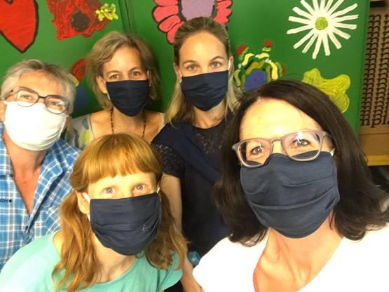 Freiwillige vom ASW-Helferteam in Urdorf