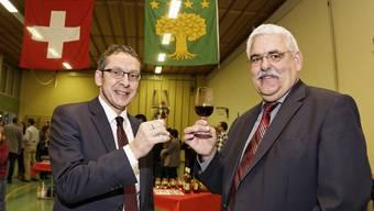 Bözberg Neujahrsapero und Fusion
