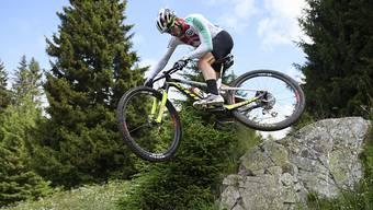 Nino Schurter musste sich beim Weltcup-Rennen in Andorra mit Rang 2 begnügen