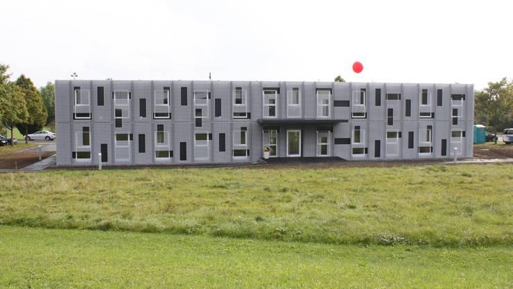 Das neue Wohnheim der Uhrmacherschule Grenchen