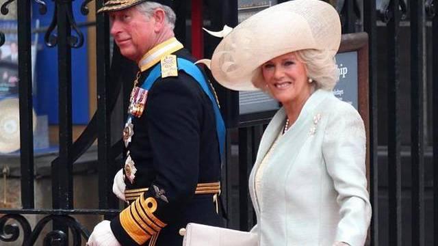 Thronfolger Charles mit seiner Gattin Camilla