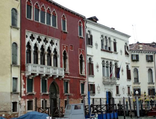 Venedigs Palazzi - auch bei Regen attraktiv