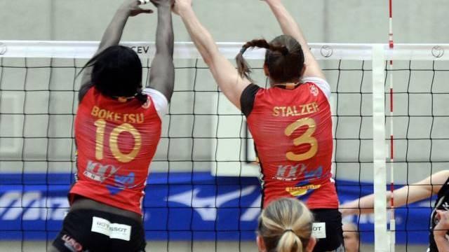 Auswärtsniederlage für die Volleyballerinnen von Neuchâtel UC.