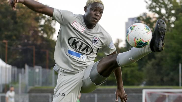 Yvan Alounga gehört zu den regionalen Nachwuchskräften des FC Aarau.