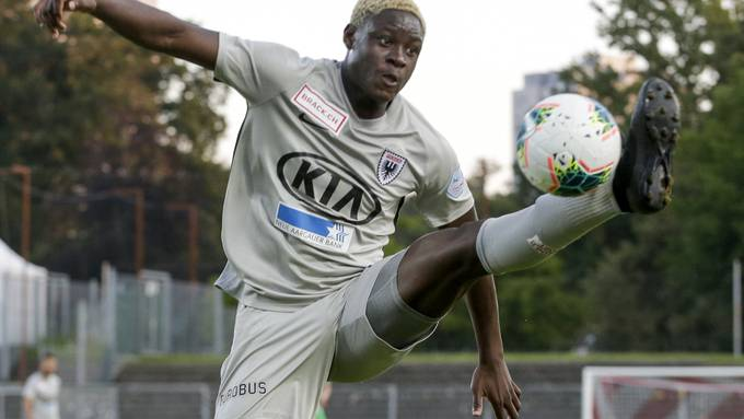 Yvon Alounga gehört zu den regionalen Nachwuchskräften des FC Aarau.