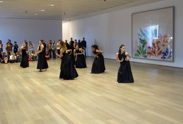 Choreografin Sasha Waltz bespielt die Fondation Beyeler