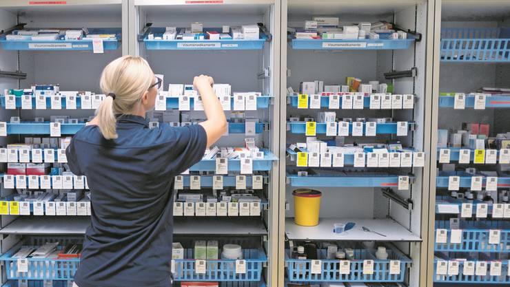 Engpässe bei den Lieferungen von Medikamenten beschäftigen die Spitäler – und den Bund.