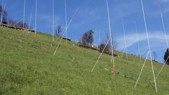 Baugespann auf dem Land (Symbolbild)