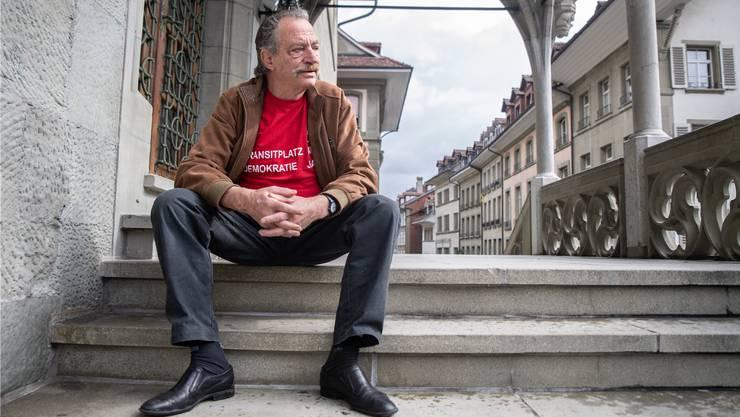 «Ernüchterung», «machen die Faust im Sack»: So beschreibt Armin Mürner, 71, die Gefühlslage gegenüber der Politik im Berner Rathaus.