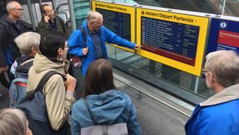 Bahnhof Bern gesperrt
