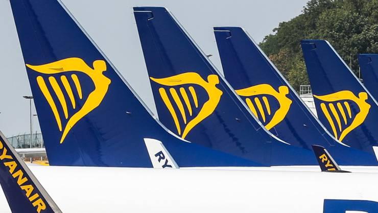 Ryanair hat mit dem Preisdruck zu ringen: Die irische Billigfluggesellschaft hat deshalb einen Gewinnrückgang verbuchen müssen. (Archivbild)